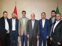 Filistinli Bakandan HÜDA PAR İstanbul İl Başkanlığına ziyaret