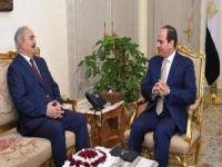 General Hafter bir ay içinde ikinci kez Sisi'yi ziyaret etti