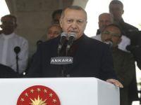 """Erdoğan:""""Camiler inşa edildikleri şehirlere karakter kazandırır"""""""