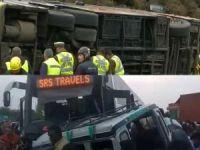 Şili ve Hindistan'da otobüs kazaları: 21 ölü