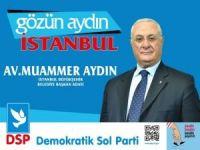 DSP'li Aydın İBB adaylığından istifa etti