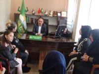 Mağdur ailelerden HÜDA PAR İstanbul İl Başkanlığına ziyaret