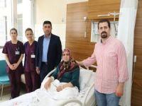 Adıyaman'da ilk defa kapalı yöntemle ameliyat yapıldı