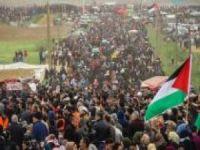 """""""Dönüş Yürüyüşleri Filistin'i işgalden kurtarma yolunda bir strateji olmuştur"""""""