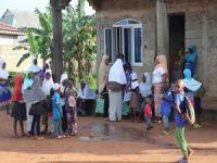 Avrupa Yetim Eli yardım çalışmaları için Nijerya'da