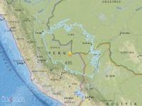 Peru'da 8 büyüklüğünde deprem