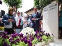 Şehid Molla Mehmet mezarı başında dualarla anıldı