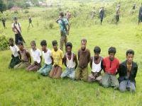 Arakanlı Müslümanları şehid eden askerler tahliye edildi