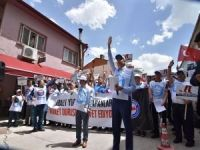 CHP'li Odunpazarı Belediyesi protesto edildi