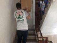 Avrupa Yetim Eli'nden Ordu'daki muhtaçlara gıda yardımı