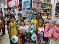 İskenderun Umut Kervanı'ndan yetim çocuklara bayramlık