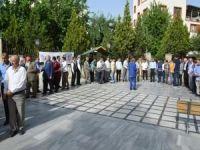 Siirt'te Peygamber Sevdalıları Platformu'ndan bayramlaşma merasimi