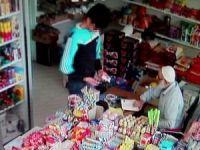 Telefon hırsızı kameraya yakalandı