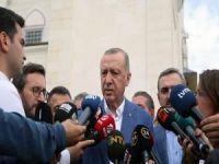 Erdoğan: Seçim için geri dönüş çok önemli