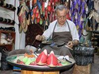 Gaziantep'in yöresel ayakkabısı yemeni dünya pazarında
