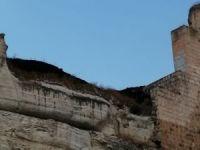 Asurlar zamanında yapılan tarihi kalede yangın