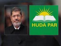 """HÜDA PAR: """"Mursi'nin şehadeti bir darbe rejimi cinayeti olarak tarihte yerini alacaktır"""""""