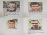 Tunceli'de öldürülen 4 PKK'lı arananlar listesindeydi