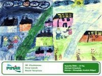 38. Uluslararası Pınar Çocuk Resim Yarışması'na katılan minik ressamlar ödüllerini aldı