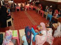 Yaz Kur'an kursları yoğun bir şekilde devam ediyor