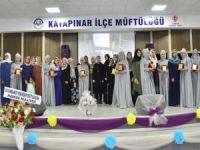 İslami ilimlerini tamamlayan 20 hafize mezun oldu