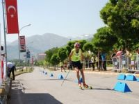 Tekerlekli Kayak Yarışmaları Türkiye Finalleri Bitlis'te başladı