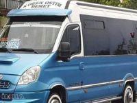 Minibüs şoföründen tesettürlü bayana hakaret