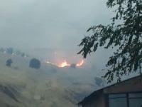 Elazığ'da yangın