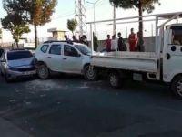 Batman'da zincirleme trafik kazası