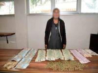 Suriyeli dilencinin üzerinden yaklaşık 35 bin lira çıktı