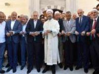 Parmakkapı Kazasker Mehmet Efendi Camii'nin resmi açılışı yapıldı