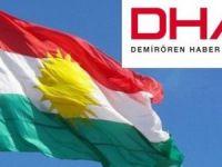 "DHA'dan ""Kürdistan bayrağı"" hazımsızlığı"