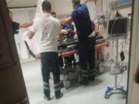 Polis aracına saldırı: Bir yaralı