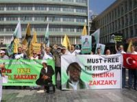 Ankara'da Şeyh Zekzeki'ye destek eylemi düzenlendi