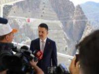 Türkiye'nin en yüksek baraj inşaatı 2021'de devreye girecek