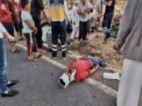 Kontrolden çıkan otomobil takla attı: 8 yaralı