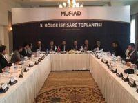 MÜSİAD 5. Bölge İstişare Toplantısı Van'da yapıldı