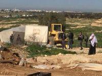 El-Arakib Köyü'ndeki yıkımlar rutin hale geldi!