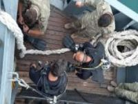 Hazar denizine düşen uçak tespit edildi