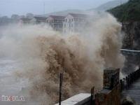 """Çin'de tayfun nedeniyle """"kırmızı alarm"""""""
