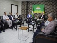 AK Partili vekillerden HÜDA PAR'a taziye ziyareti