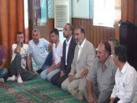 HÜDA PAR Genel Başkanı Sağlam'dan Yavuz ailesine bayram ziyareti