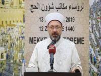 """Erbaş: """"Beraberliğimizi güçlendirdiğimizde İslam coğrafyasındaki sorunlar kolayca çözülecek"""""""