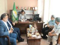 İhvanı Müslimin ve Cemaati İslami yetkililerinden HÜDA PAR'a taziye ziyareti