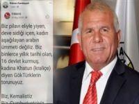 Alçaklığa bak! CHP'li Belediye Başkanından Hazreti Muhammed'e hakaret