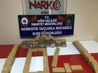 Ağrı'da 35 kilo eroin maddesi ele geçirildi