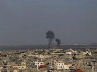 İşgal rejimi Gazze'nin güneydoğusuna top atışlarıyla saldırdı