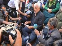 Oturma eylemi yapan ailelerden HDP açıklamasına tepki