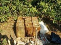 PKK'ya ait 180 kilo patlayıcı madde imha edildi