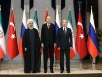 Erdoğan Suriye zirvesinde konuştu: Elimizi taşın altına daha çok koymalıyız